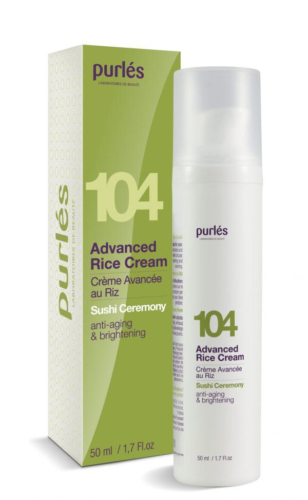 Purles 104 Advanced Rice Cream Krem Ryżowy 50ml