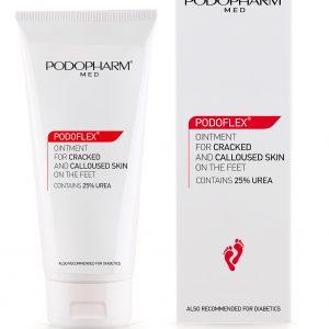 Podopharm PODOFLEX® Maść do popękanej i zrogowaciałej skóry stóp 75 ml