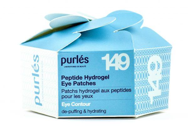 Purles 149 PEPTIDE HYDROGEL EYE PATCHES Peptydowe hydrożelowe płatki pod oczy