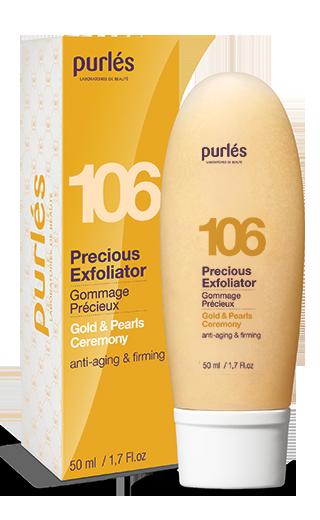 Purles 106 PRECIOUS EXFOLIATOR Peeling żelowy Bogini 50ml