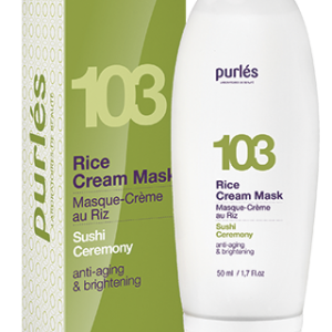 Purles 103 RICE CREAM MASK Kremowa maska ryżowa 50ml