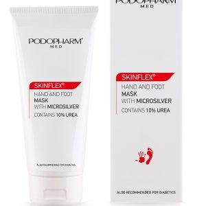 Podopharm SKINFLEX® Maska do dłoni i stóp z mikrosrebrem 75 ml