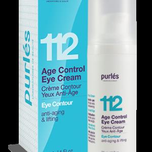 Purles 112 AGE CONTROL EYE CREAM Przeciwzmarszczkowy krem na okolice oczu 30ml