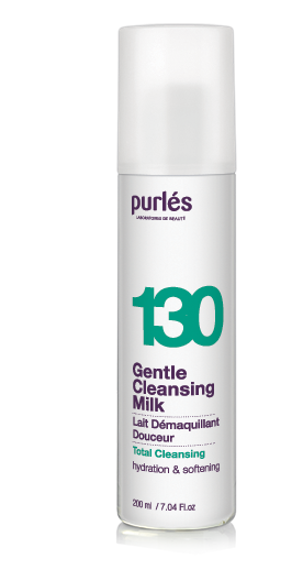Purles 130 CLEANSING MILK Łagodne mleczko do demakijażu 200ml