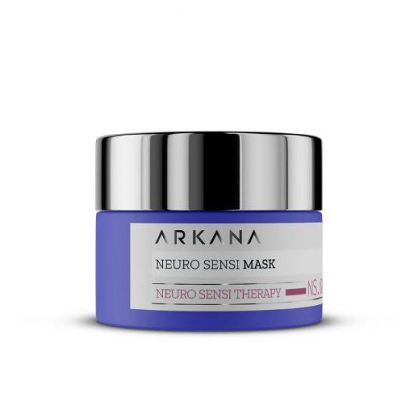 Arkana Neuro-maska na noc dla skór naczyniowych i ekstremalnie wrażliwych 50 ml