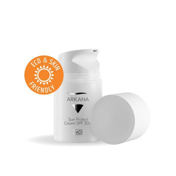Arkana Krem ochronny z filtrem SPF 50 nowa formuła 50 ml